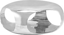 vidaXL Table basse Aluminium moulé 70 x 70 x 32