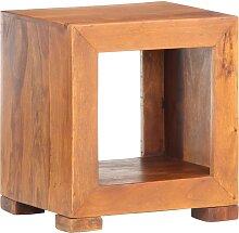 vidaXL Table d'appoint 37x29x40 cm Bois solide