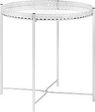 vidaXL Table d'appoint Argenté 40x40x41 cm