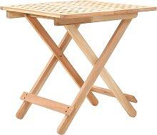 vidaXL Table d'appoint pliante 50 x 50 x 49 cm