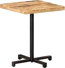 vidaXL Table de bistro Carrée 60x60x75 cm Bois de