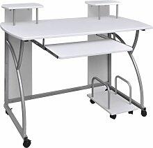 Vidaxl - Table de Bureau pour Ordinateur avec