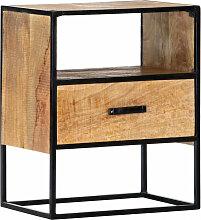 vidaXL Table de chevet 40 x 30 x 50 cm Bois de
