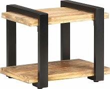 vidaXL Table de chevet 50x40x40 cm Bois de