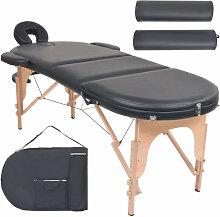 vidaXL Table de massage pliable 10 cm