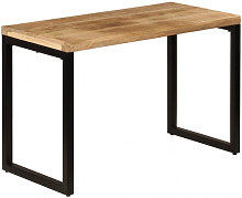 vidaXL Table de salle à manger 115x55x76 cm Bois