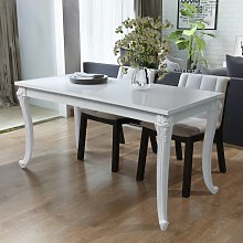 vidaXL Table de salle à manger 116 x 66 x 76 cm