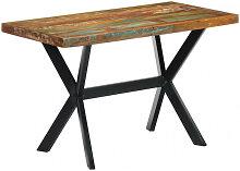 vidaXL Table de salle à manger 120x60x75cm Bois