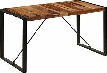 vidaXL Table de salle à manger 140x70x75 cm Bois