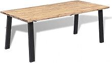 vidaXL Table de salle à manger 170 x 90 cm Bois