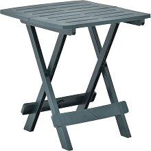 vidaXL Table pliable de jardin Vert 45x43x50 cm