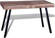 vidaXL Table Teck recyclé