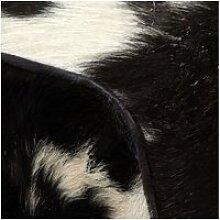 Vidaxl tabouret cuir véritable de chèvre 40 x 30