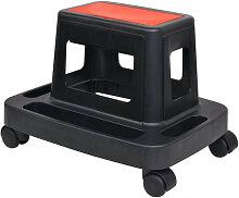 vidaXL Tabouret d'atelier roulant avec