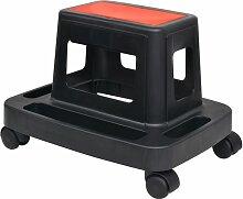 Vidaxl - Tabouret d'atelier roulant avec