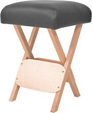 vidaXL Tabouret de massage pliant avec siège 12