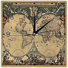 Vieille carte du monde historique géographie