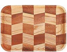 Vikenar Bois Sushi Plateau Plate Style Art de la
