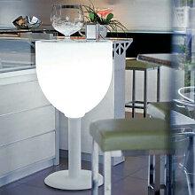 VIN - Table haute lumineuse