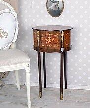 Vintage Commode Téléphone Table en Français