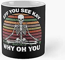 Vintage EFF Vous voyez Kay Pourquoi OH Skeleton