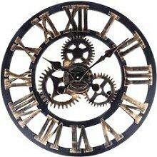 Vintage européenne handmade 3d engrenage