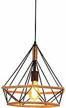 Vintage Suspensions Luminaires Industrielle Métal