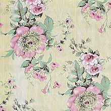 Vinyle auto-adhésif décoratif papier floral
