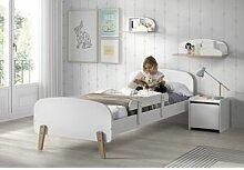 Vipack Chambre pour enfant en bois lit + chevet +