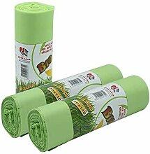 VIRSUS Lot de 100 sacs poubelle biodégradables et