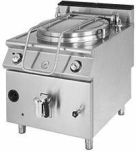 VIRTUS Marmite professionnelle à gaz 50 litres,