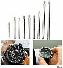 Vis de réparation pour montre, métal 10 tailles