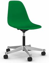 VITRA chaise à roulettes Eames Plastic Side Chair