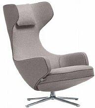 VITRA fauteuil pivotant GRAND REPOS (Gris galet H