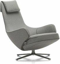 VITRA fauteuil pivotant REPOS (Gris galet H assise