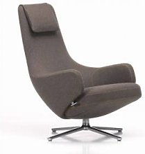 VITRA fauteuil pivotant REPOS (Noix de muscade H