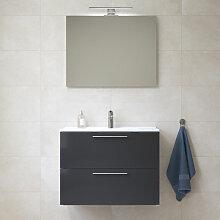 Vitra Mia Meuble 79x61x39,5 cm pour salle de bain