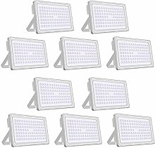 Viugreum®Lot de 10 Projecteur LED Exterieur,250W