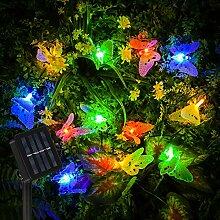 Vivibel Guirlande lumineuse solaire à LED en