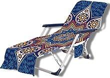 VNFWLDM Couverture De Chaise De Plage, Chaise De