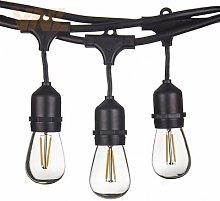VNL – guirlande lumineuse rétro Edison, 15M,