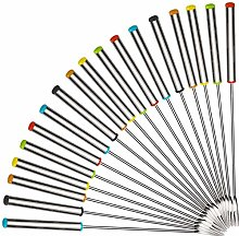Voarge Lot de 18 fourchettes à Fondue en Acier