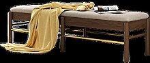 Vobajf Tabouret d'extrémité de lit simple et