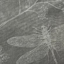 Voilage à œillets 140x260 cm Boudoir perle - Gris