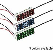 Voiture électrique horloge numérique