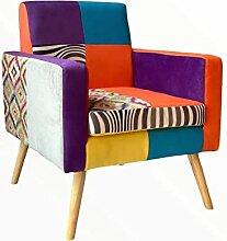 VOLERO' Shoping Online, fauteuil patchwork