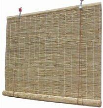 Volets XYNH Enrouleur Bambou Naturel - Rideau De