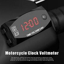 Voltmètre, horloge, thermomètre, indicateur de