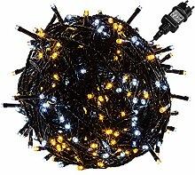Voltronic® Chaîne Lumineuse LED pour extérieur,