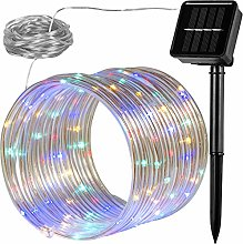 Voltronic® Guirlande Lumineuse Solaire 10m,